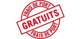 FRAIS DE PORT GRATUIT !